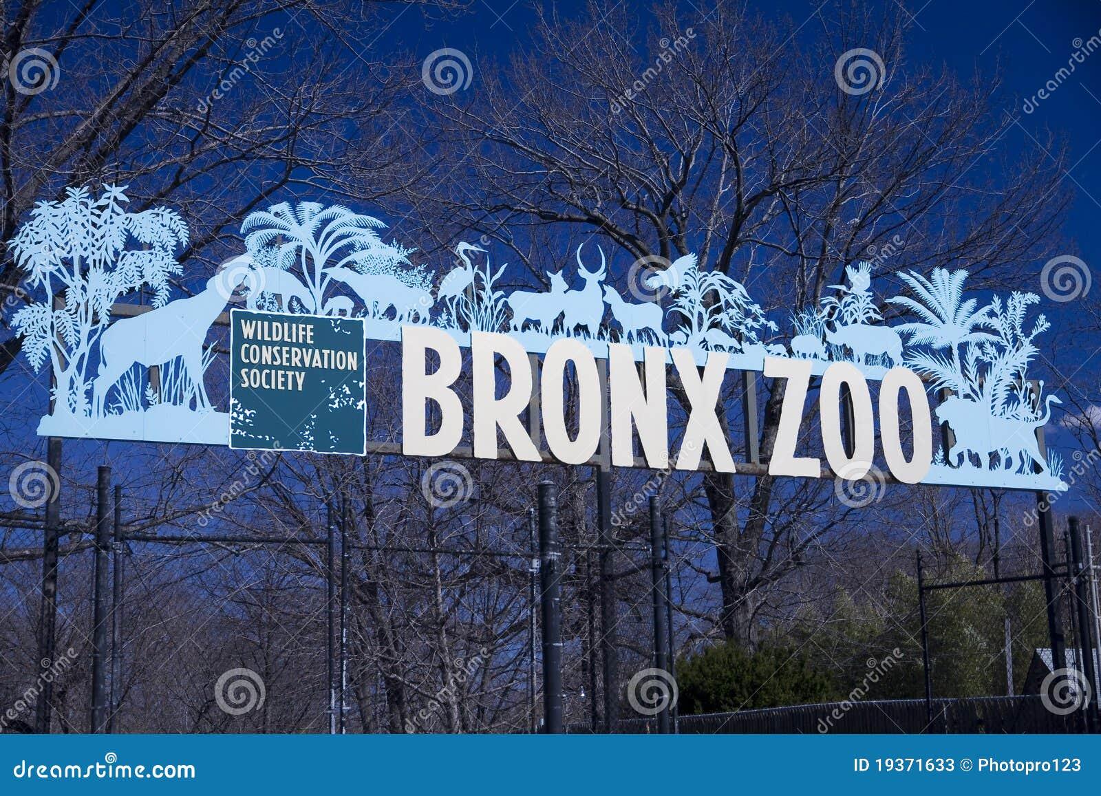 Bronx-Zoo-Zeichen