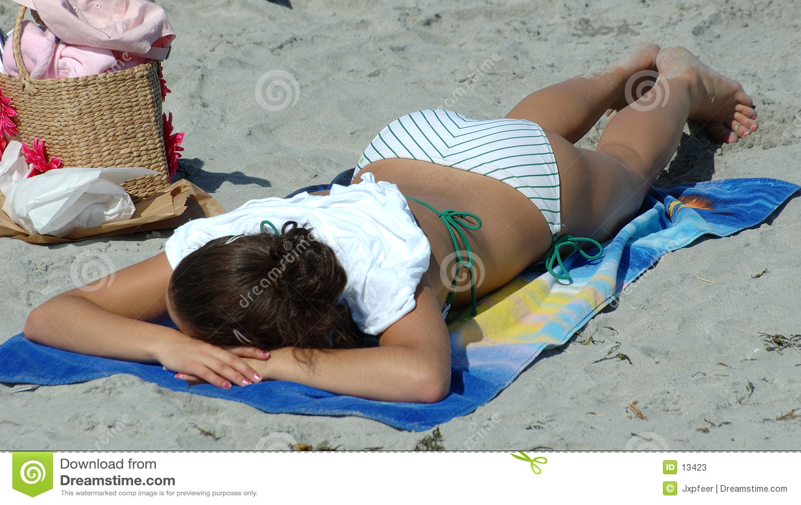 Bronzage de plage