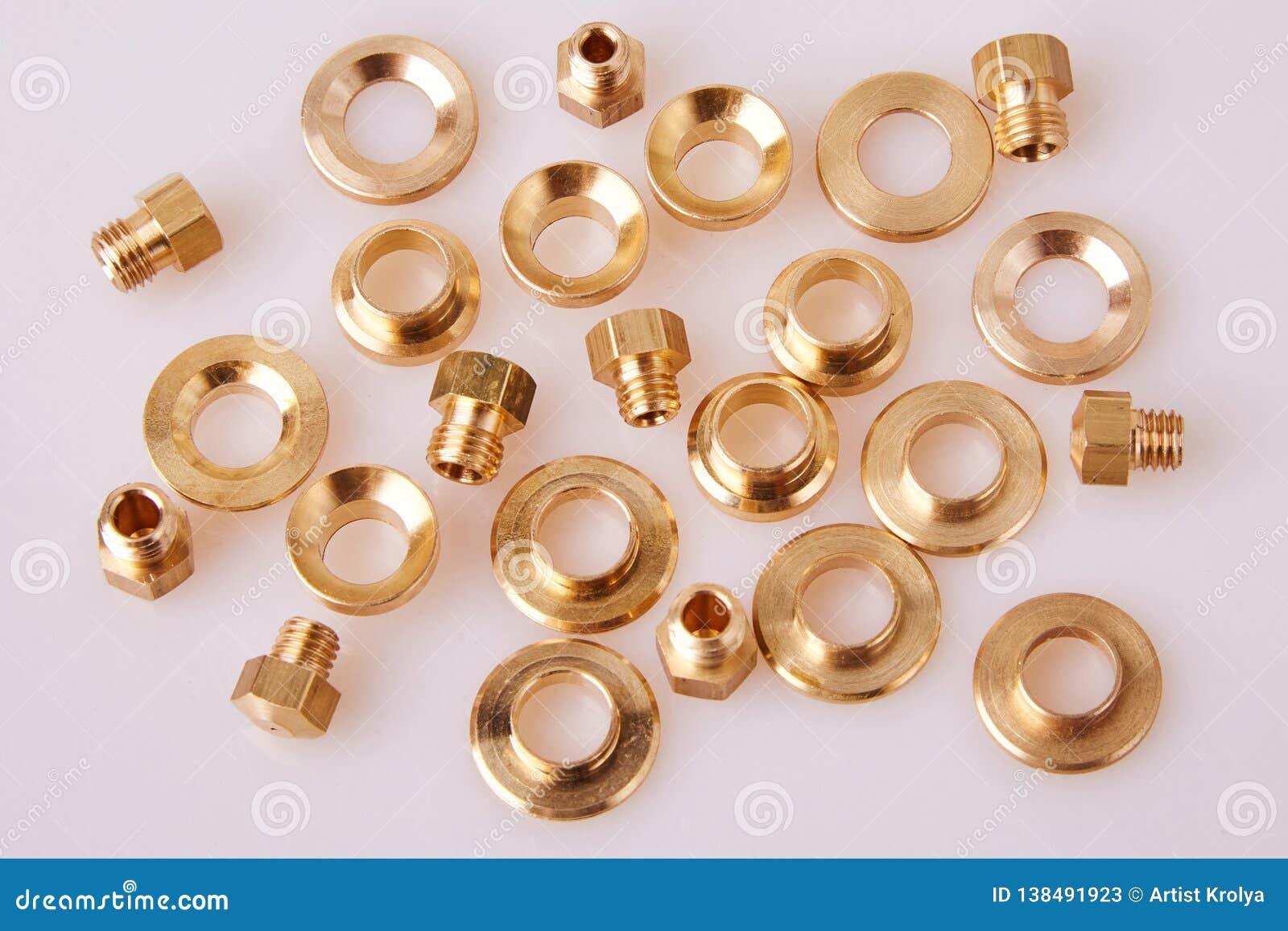 Bronze Brass Flat Washers Hardware Gaskets and GIGLEURs