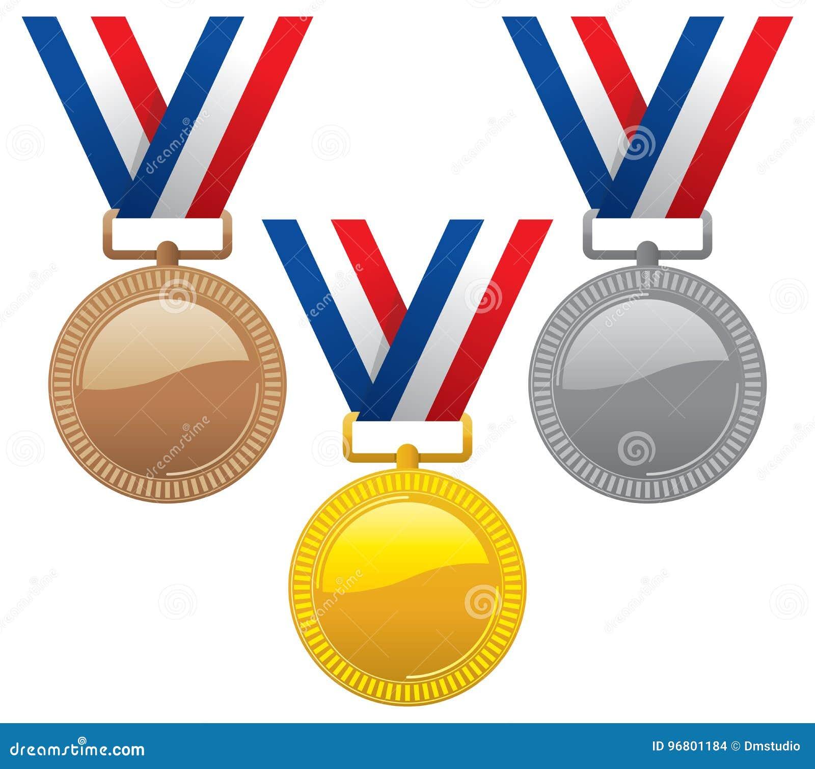 Bronze guldmedaljer inställd silver