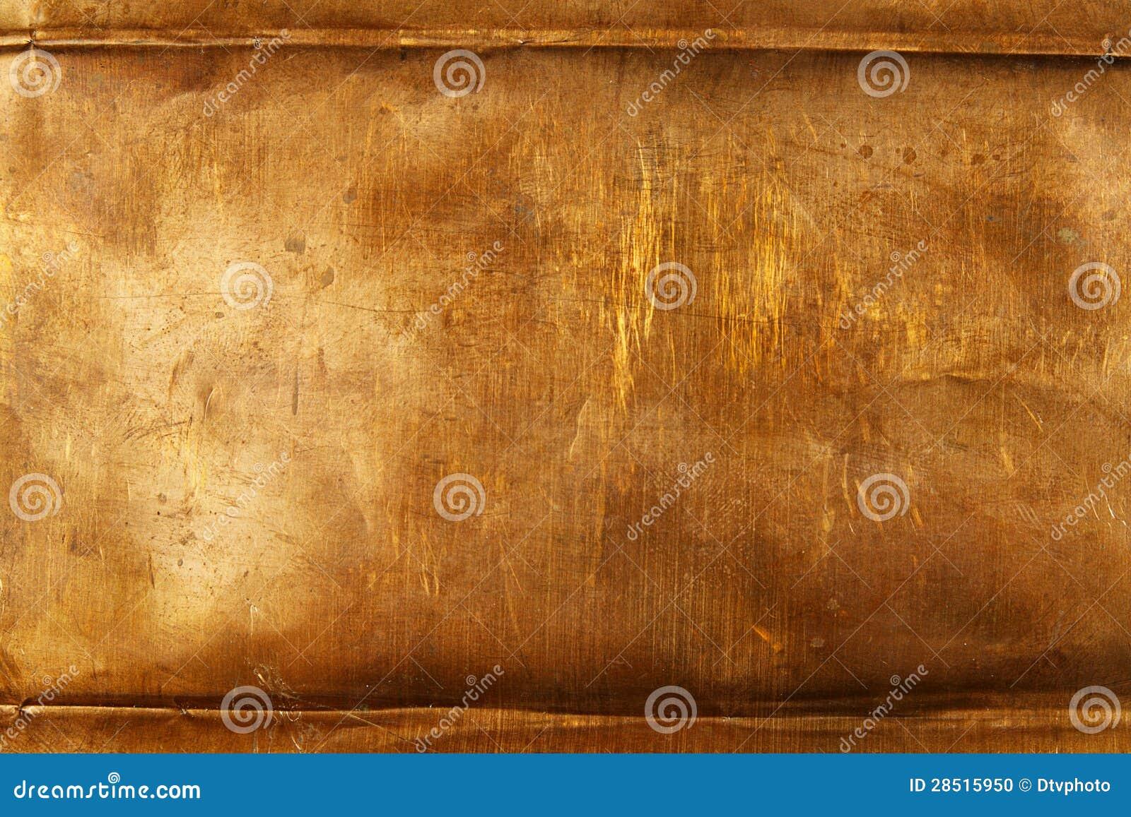 Bronze Sheet Metal Stock Photo Image 28515950