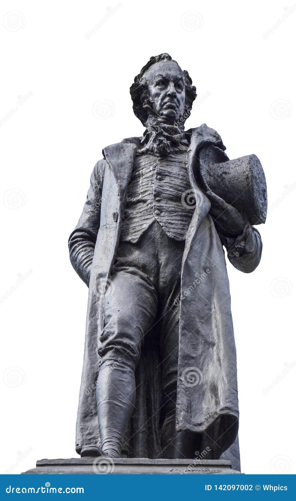 Bronze statue of Francisco de Goya