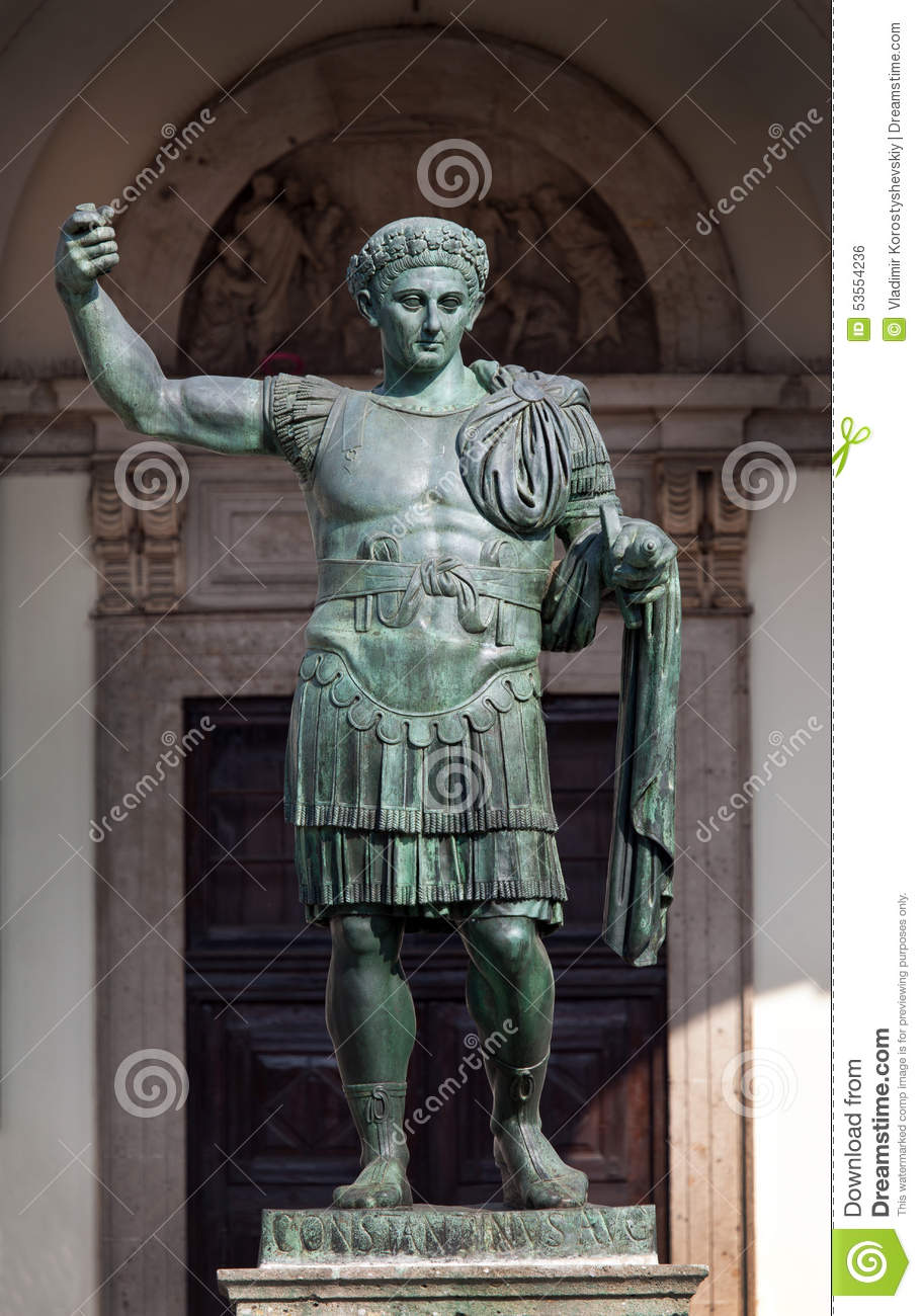 a biography of constantine a roman emperor Sources as the emperor who empowered christianity throughout the roman empire and moved the roman capital to the banks of the bosphorus, constantine was a ruler of major historical.