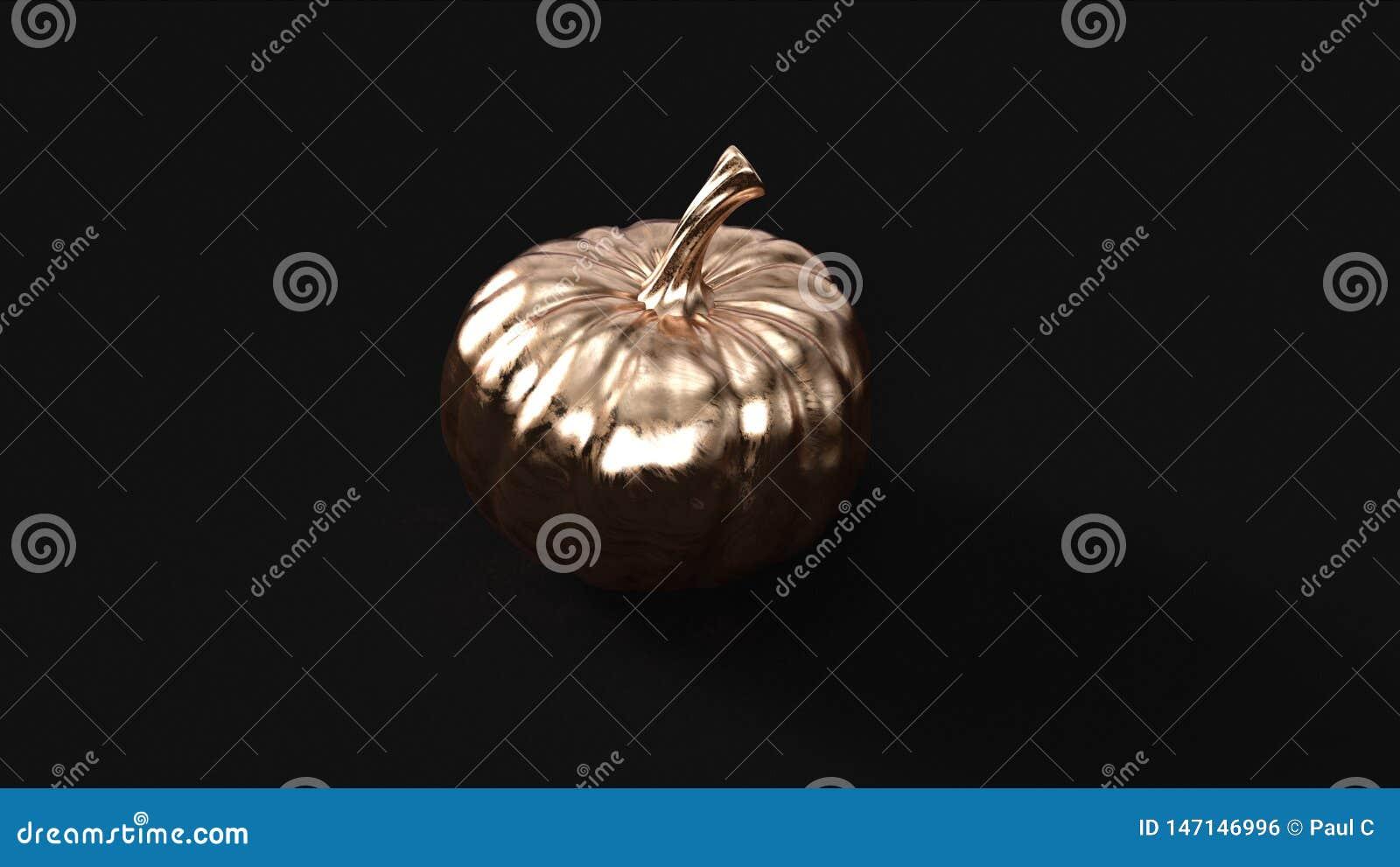 Bronzemessingkürbis