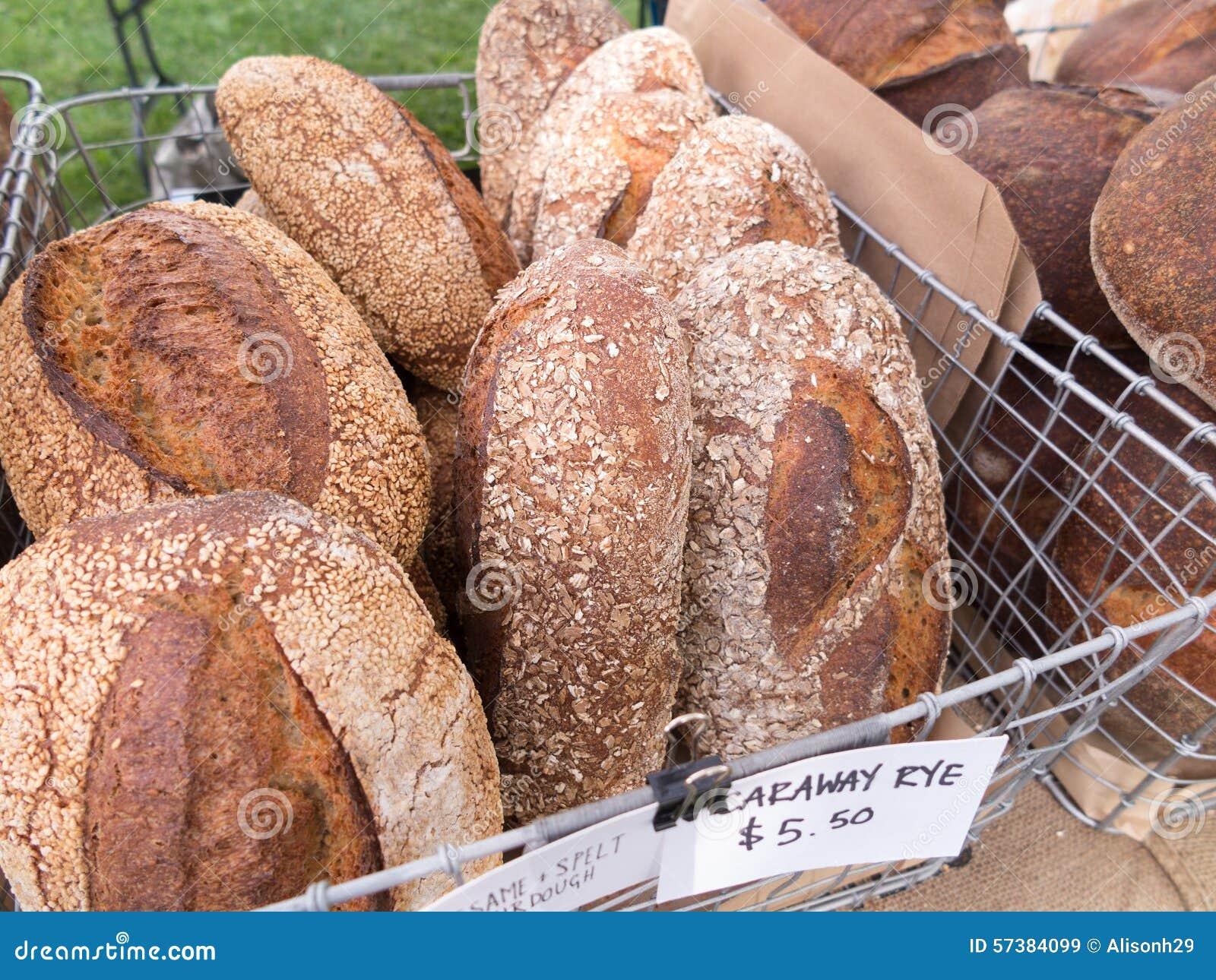 Brood bij Landbouwersmarkt