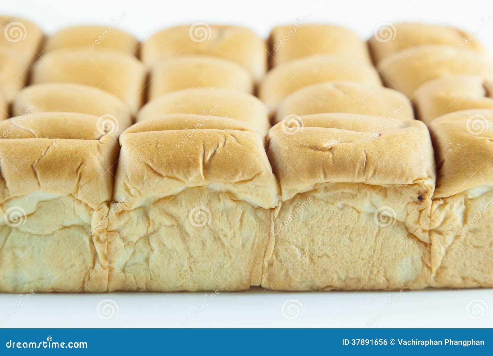 Brood op een witte achtergrond