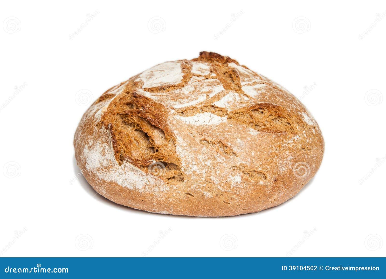 Brood van (geïsoleerd) brood