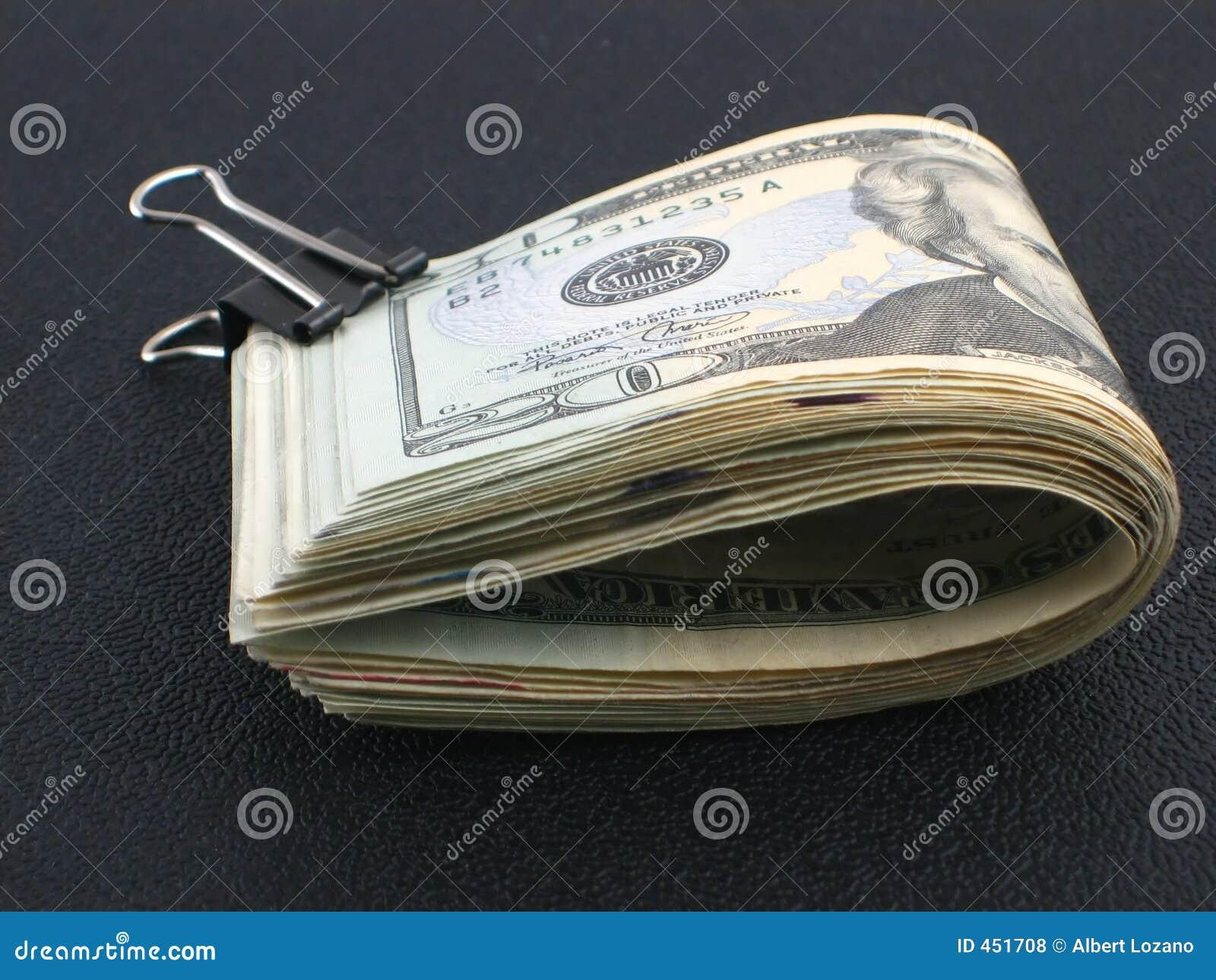 Broodje van geld