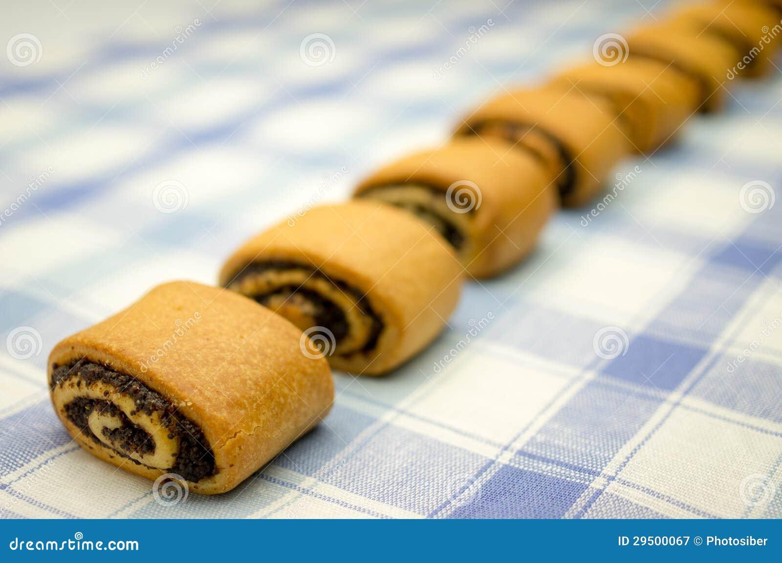 Broodjes met papaverzaden