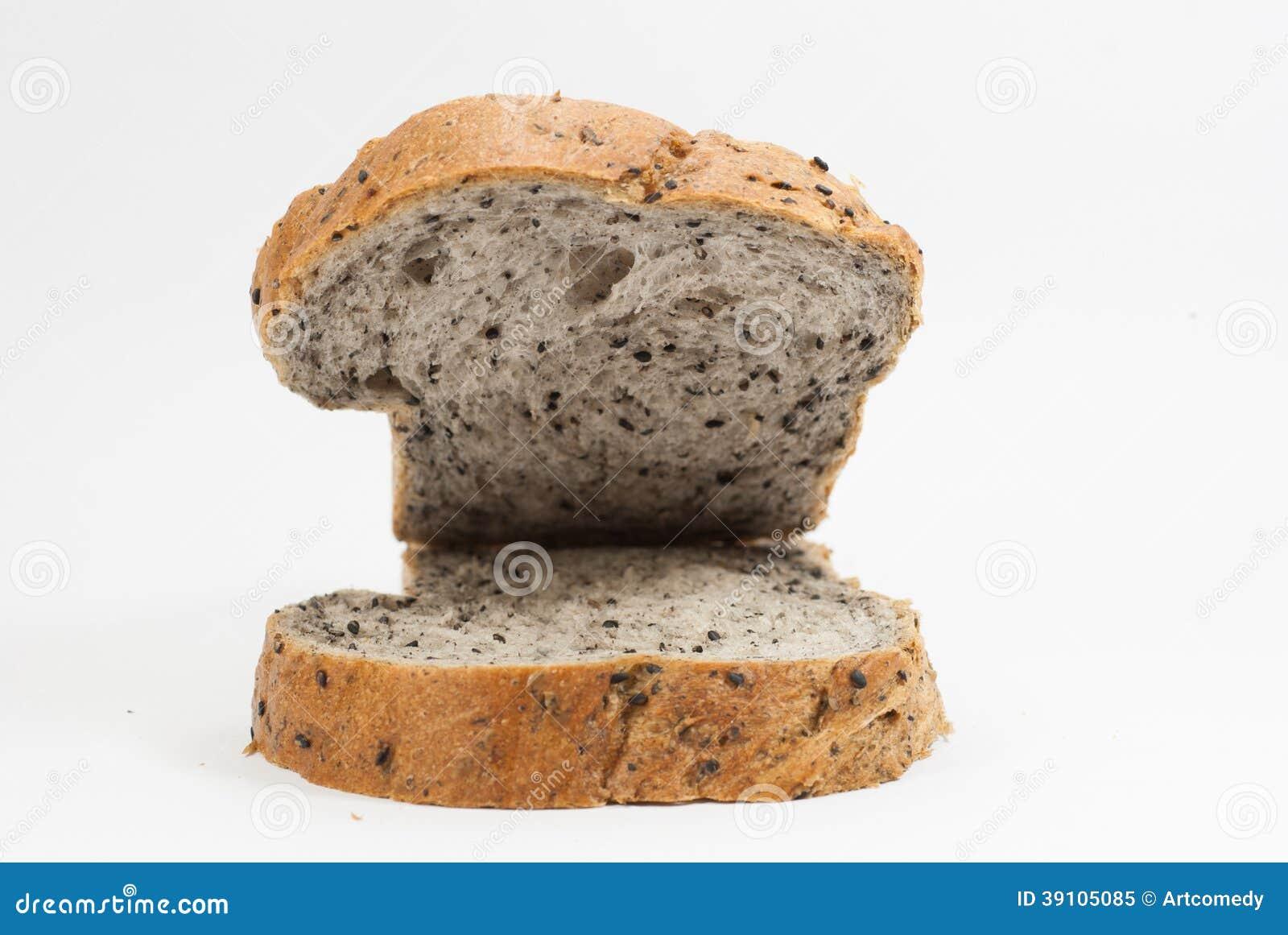 Broodplak op wit
