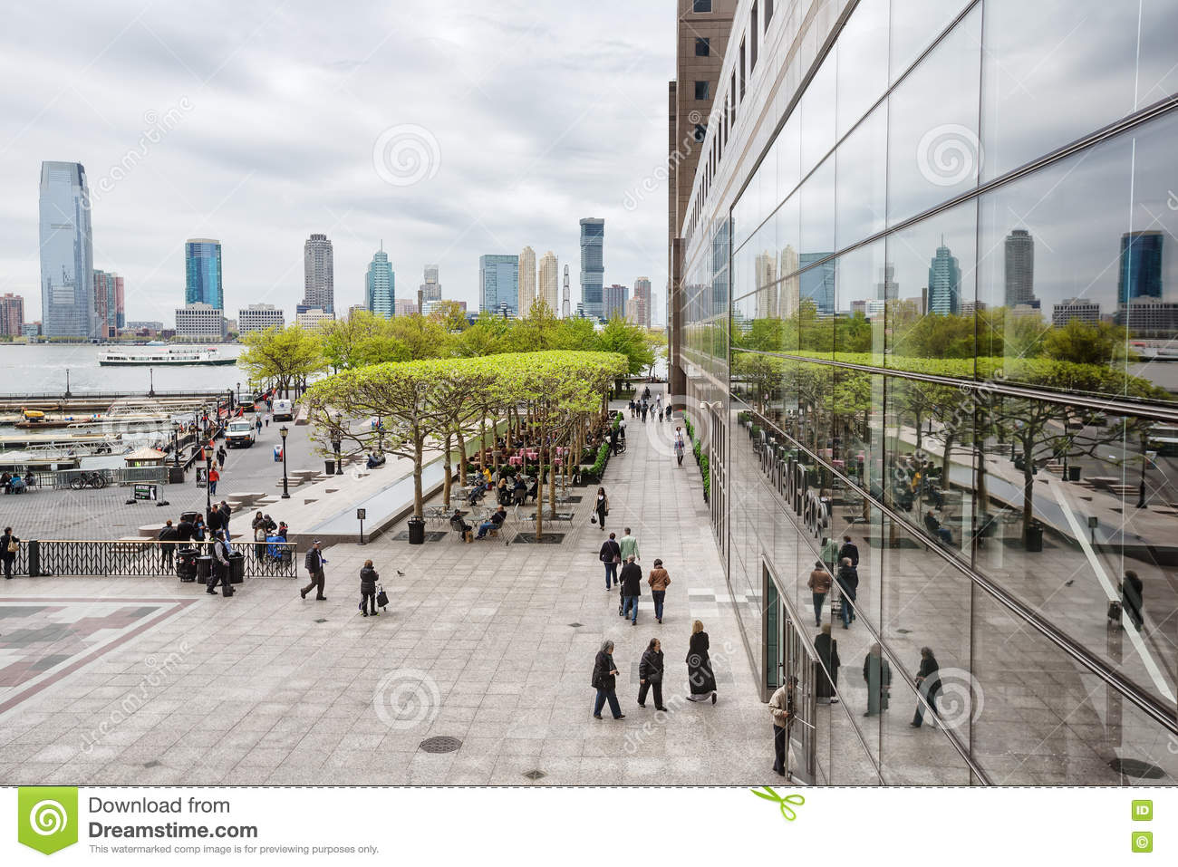brookfield place in nyc editorial stock image image of embankment