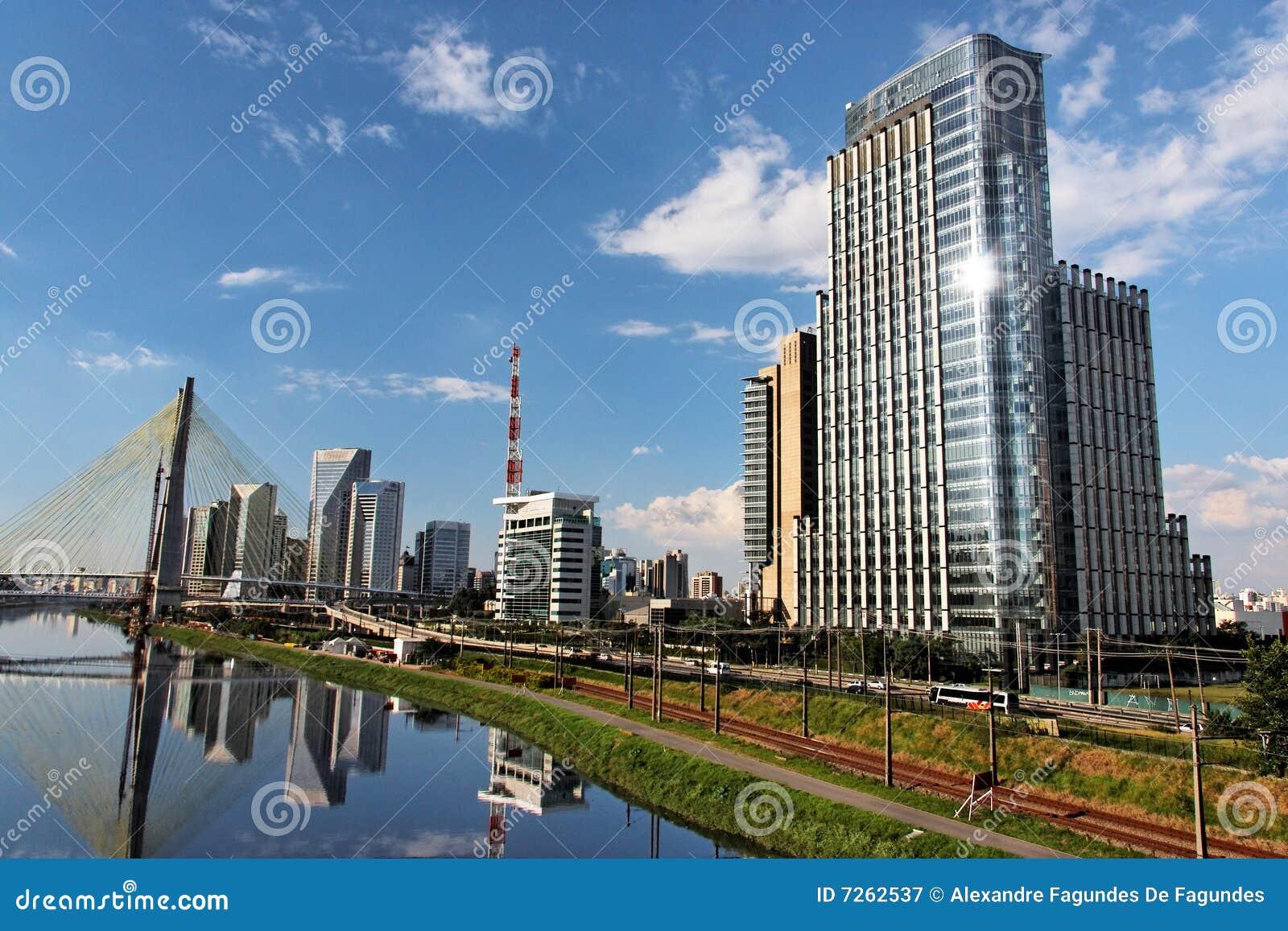Brooklin and Marginal Pinheiros Sao Paulo Brazil