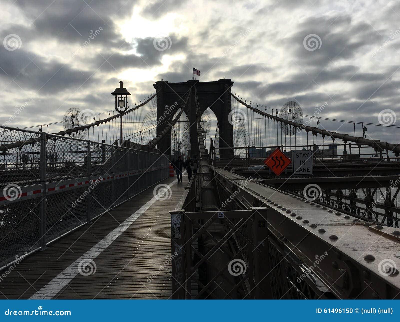 Brooklyn-Brücken-Morgen