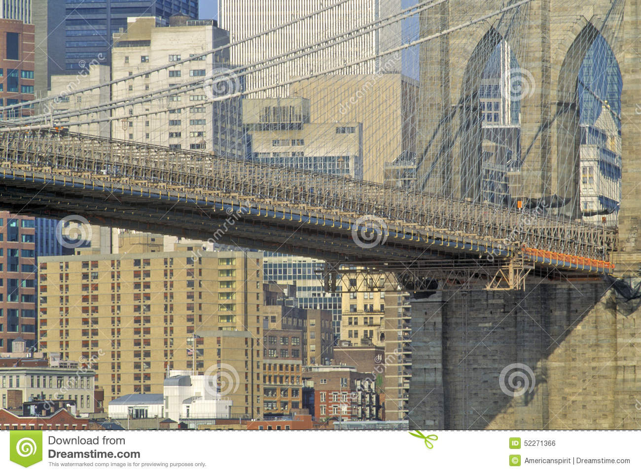 Brooklyn bridge in new york city ny usa stock photo for Buying a house in brooklyn