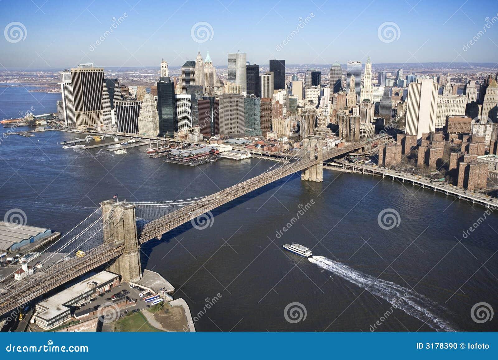 brooklyn bridge new york stock photo image 3178390. Black Bedroom Furniture Sets. Home Design Ideas