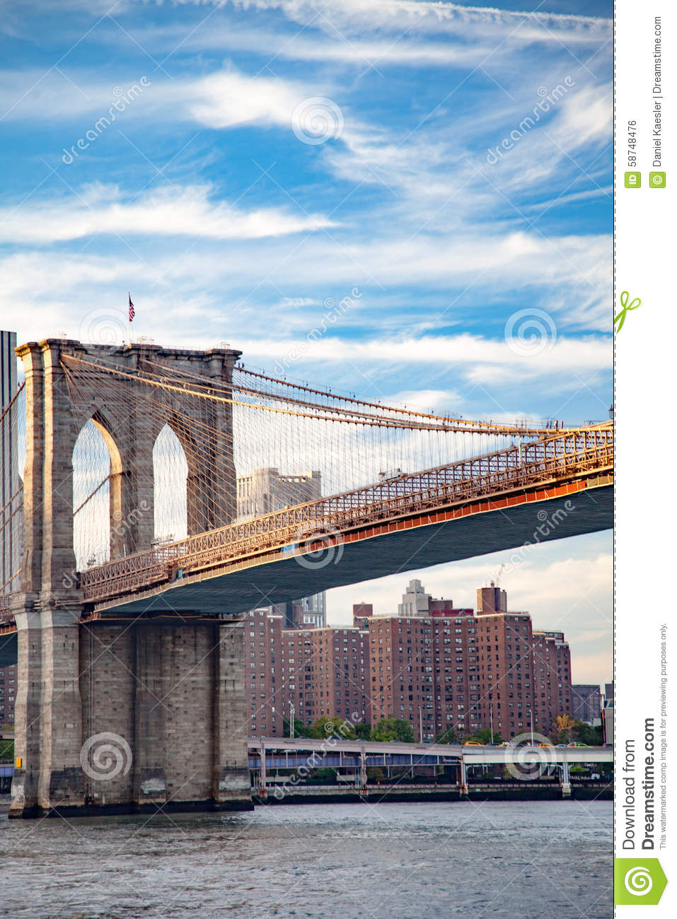 Brooklyn bridge in new york city editorial image for Buying a home in brooklyn