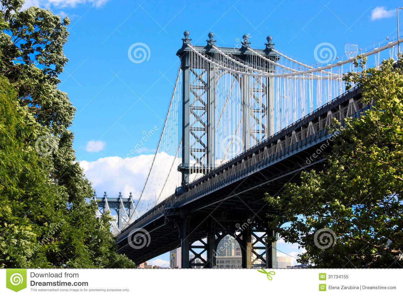 brooklyn bridge new york royalty free stock photo image 31734155. Black Bedroom Furniture Sets. Home Design Ideas