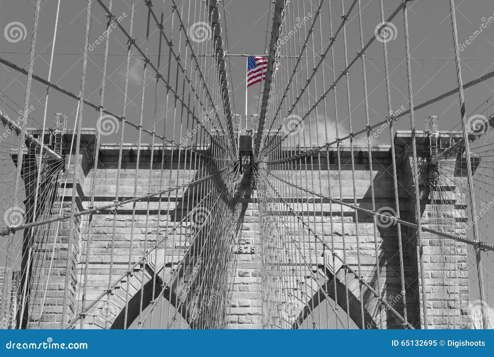 Brooklyn brigge w Nowy Jork
