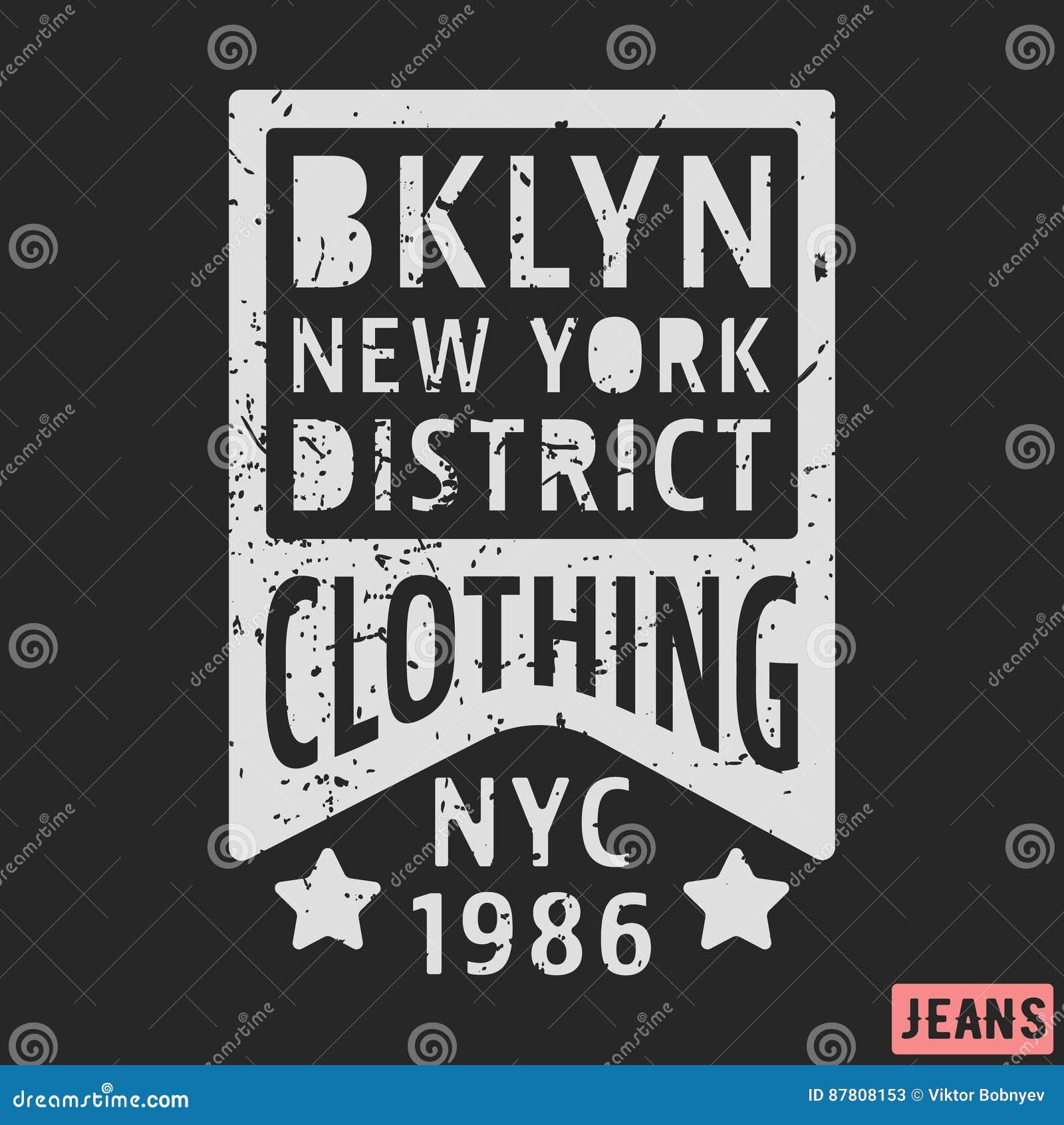 Brooklyn New York Vintage Stamp