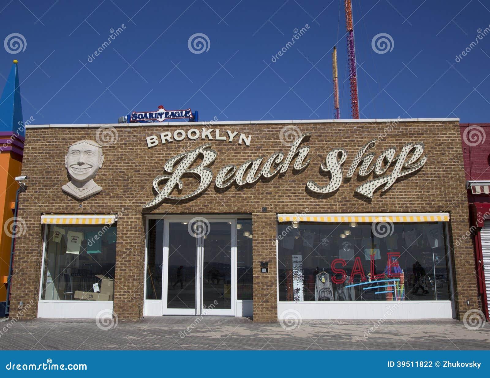 Brooklyn s Landmark Coney Island Beach Shop