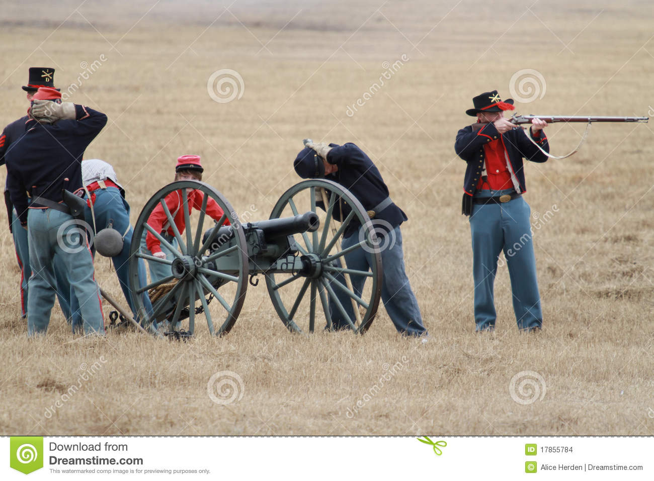 Editorial Stock Image: Brooksville Raid Re-enactment