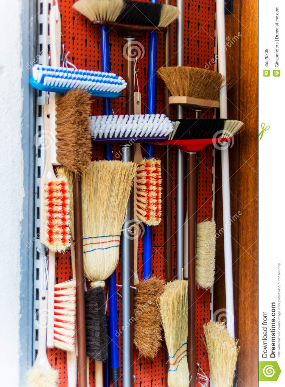 Broom Cupboard Royalty Free Stock Images - Image: 35520309