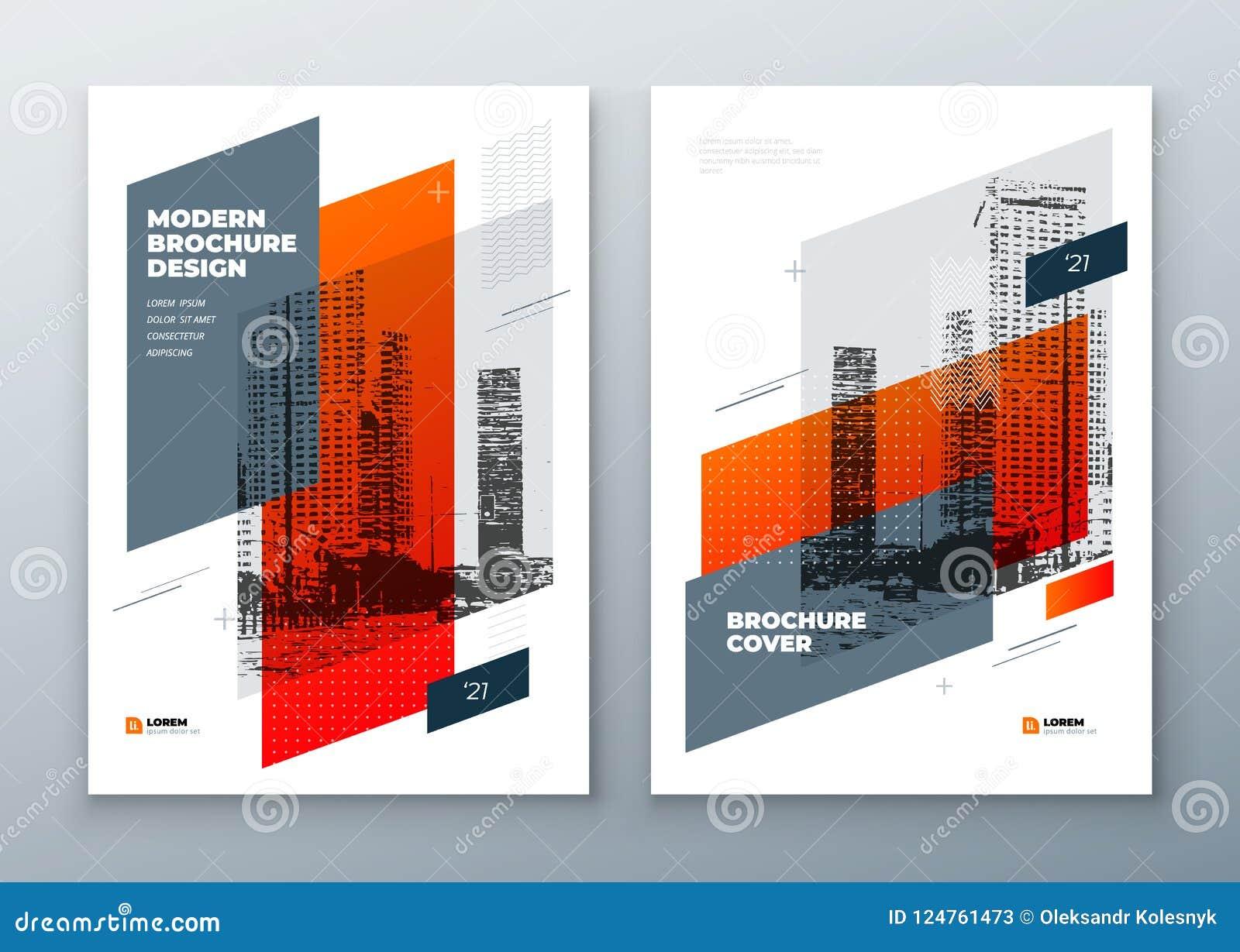 Broschürenschablonen-Plandesign Firmenkundengeschäftjahresbericht, Katalog, Zeitschrift, Broschüre, Fliegermodell kreativ
