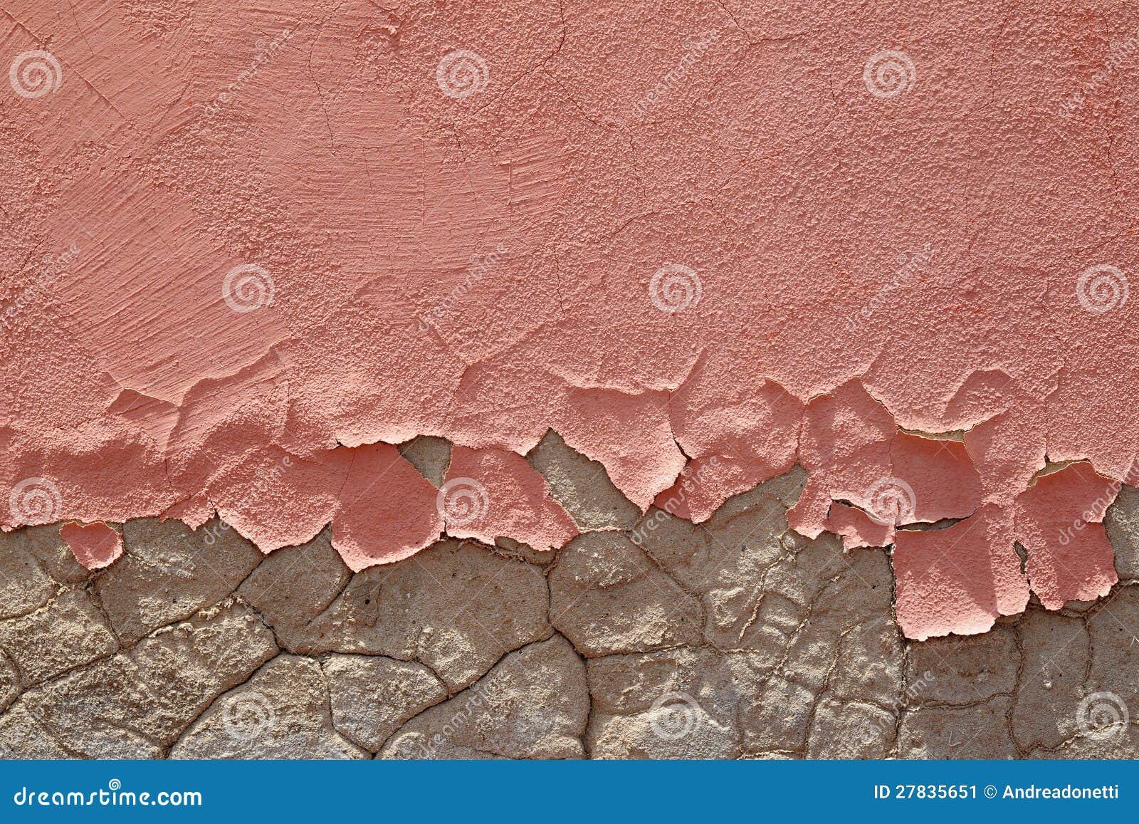 Brosse schil roze verf stock afbeelding afbeelding bestaande uit doorstaan 27835651 - Hoe roze verf ...
