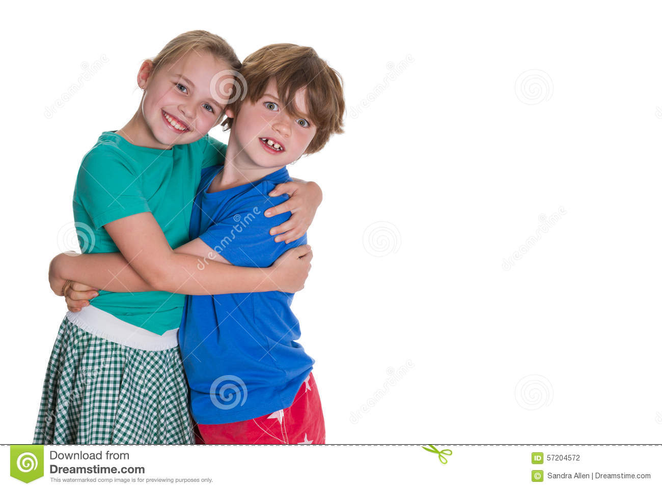 Brother And Sister Love Stock Photo Image Of Expressions 57204572