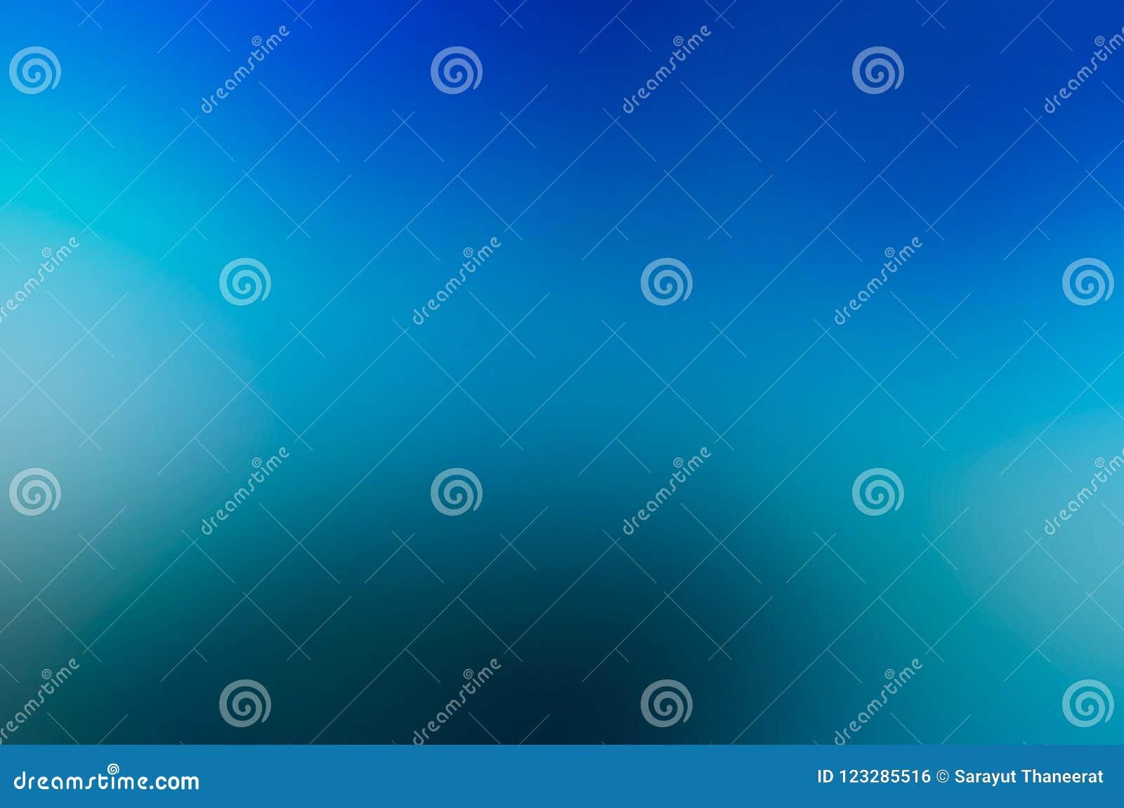 Brouillez l éclairage bleu-clair bleu-foncé de conception abstraite bleue de fond du coin