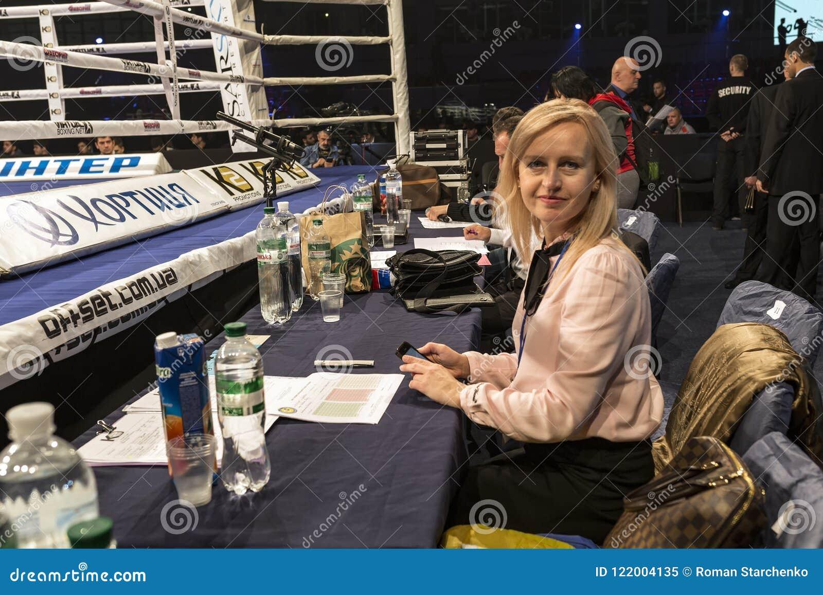 Brovary De Oekraïne, 14 11 2015 Alina Shaternikova, de kampioen van