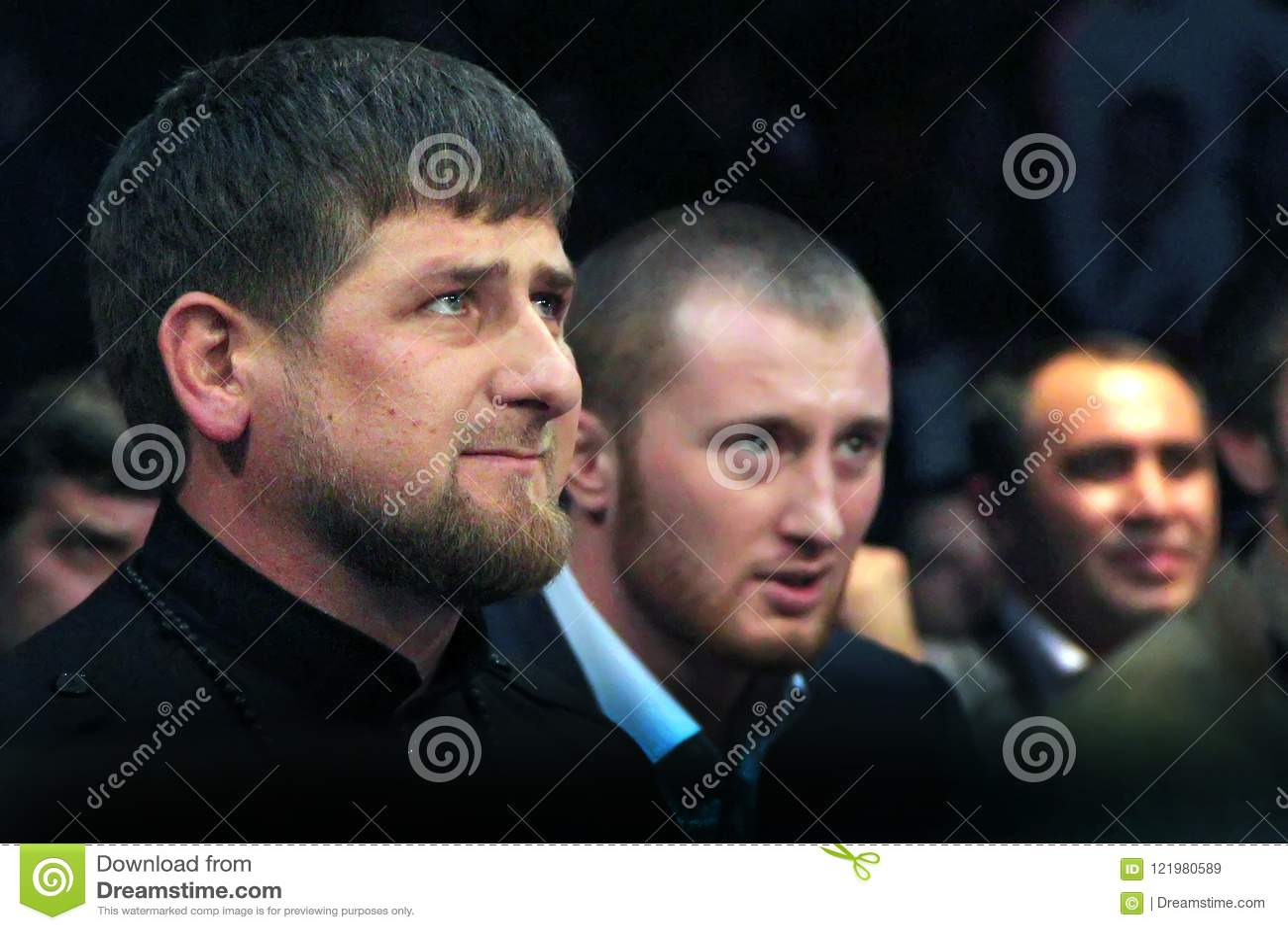 Brovary, UKRAINE, 4 12 Les 2010 Présidents tchétchènes Ramzan Kadyrov