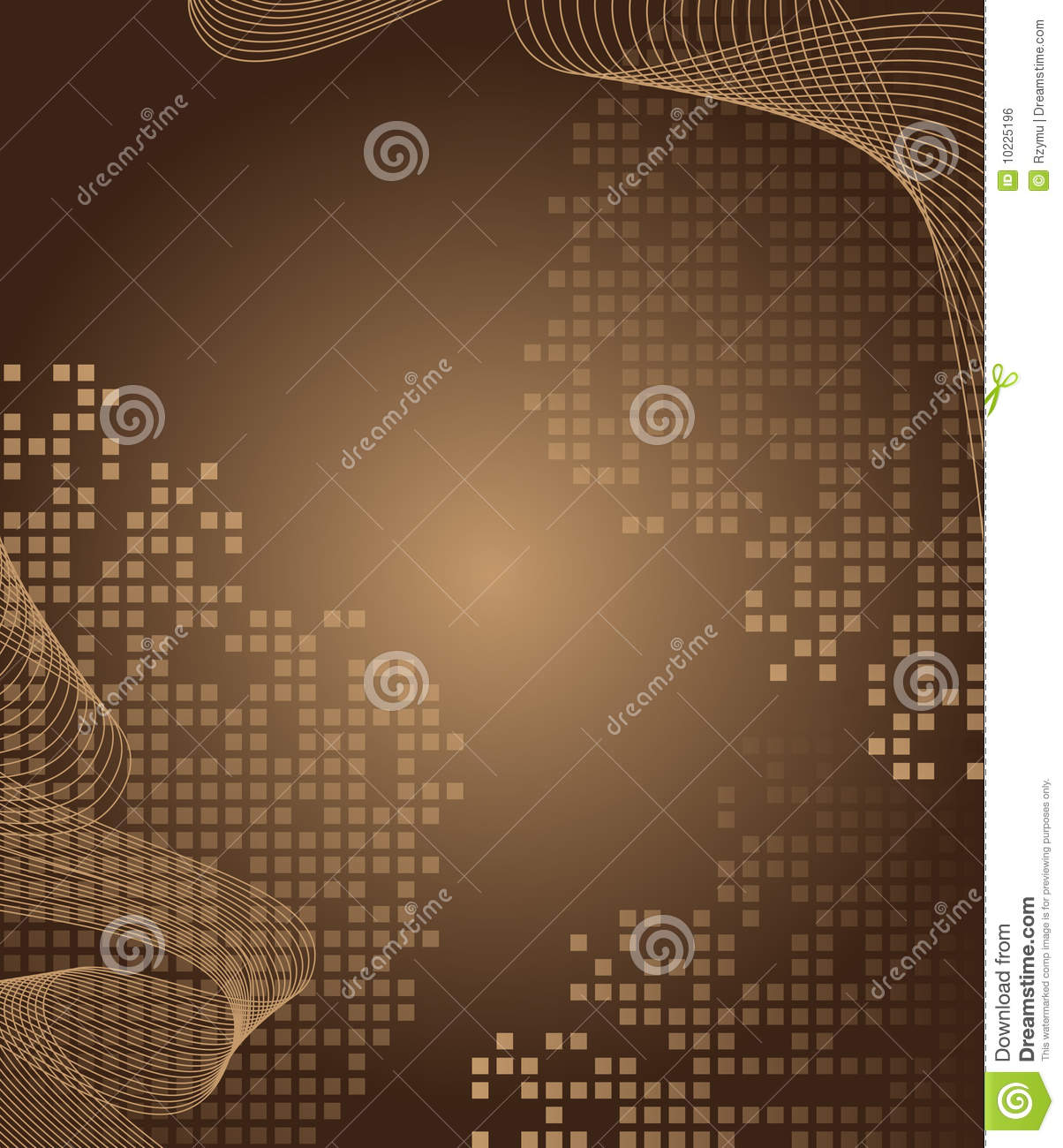 Brown Abstract Background Royalty Free Stock Image