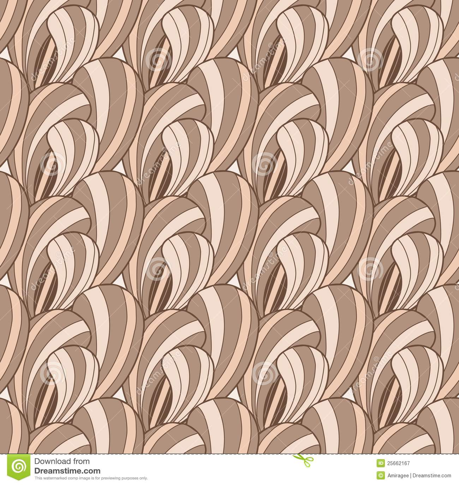 Brown-abstraktes nahtloses Muster