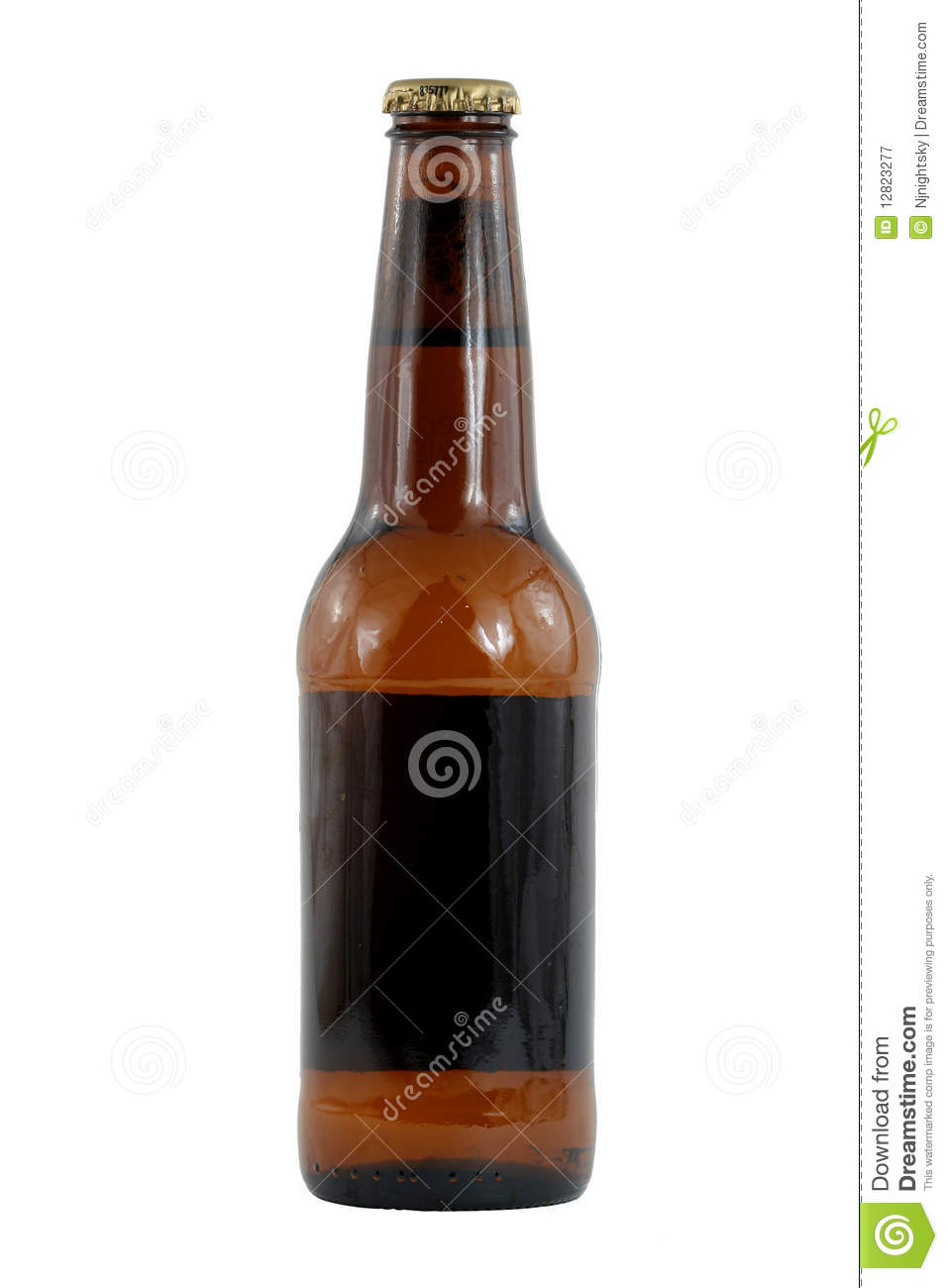 Brown beer bottle royalty free stock photography image 12823277
