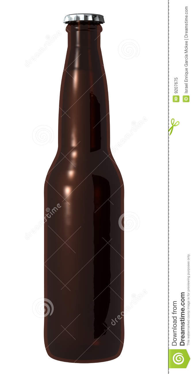 Brown beer bottle royalty free stock photo image 9207675