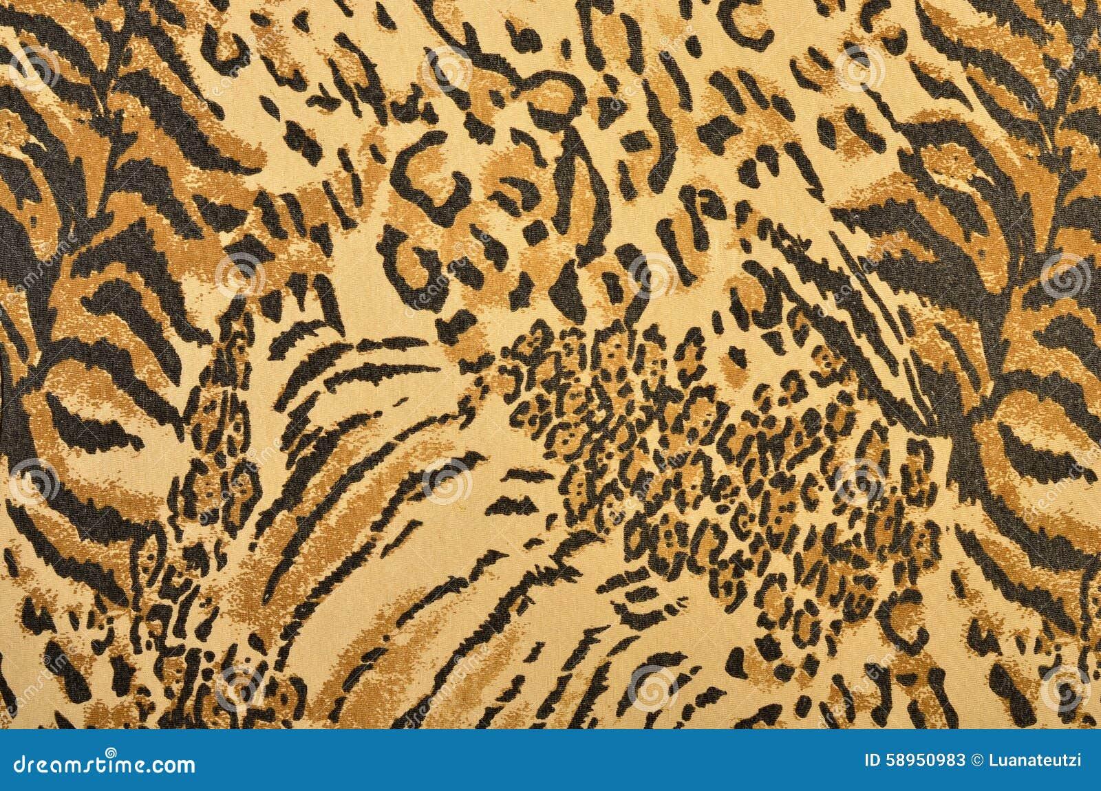 brown tiger print wallpaper - photo #21