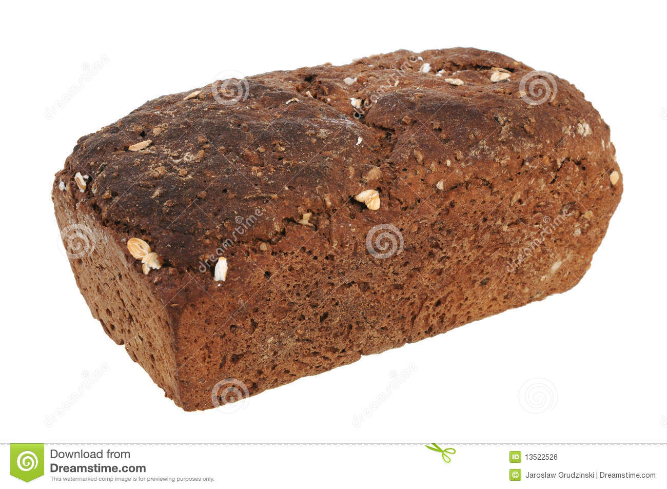 Brown Bread Royalty Free Stock Image - Image: 13522526