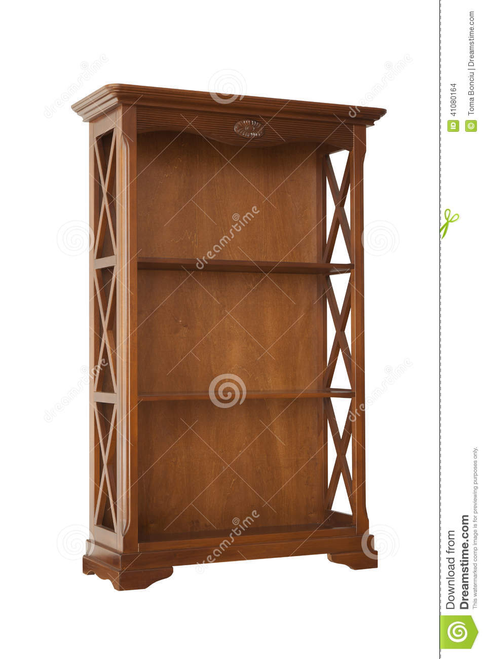 Brown cabinet isolated on white stock photo image 41080164 for White stock cabinets
