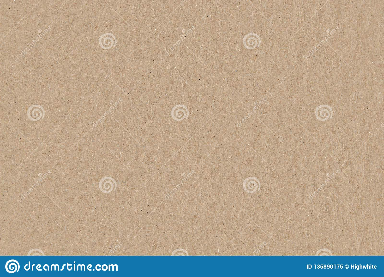 Brown cardboard seamless texture, smooth rough paper background.