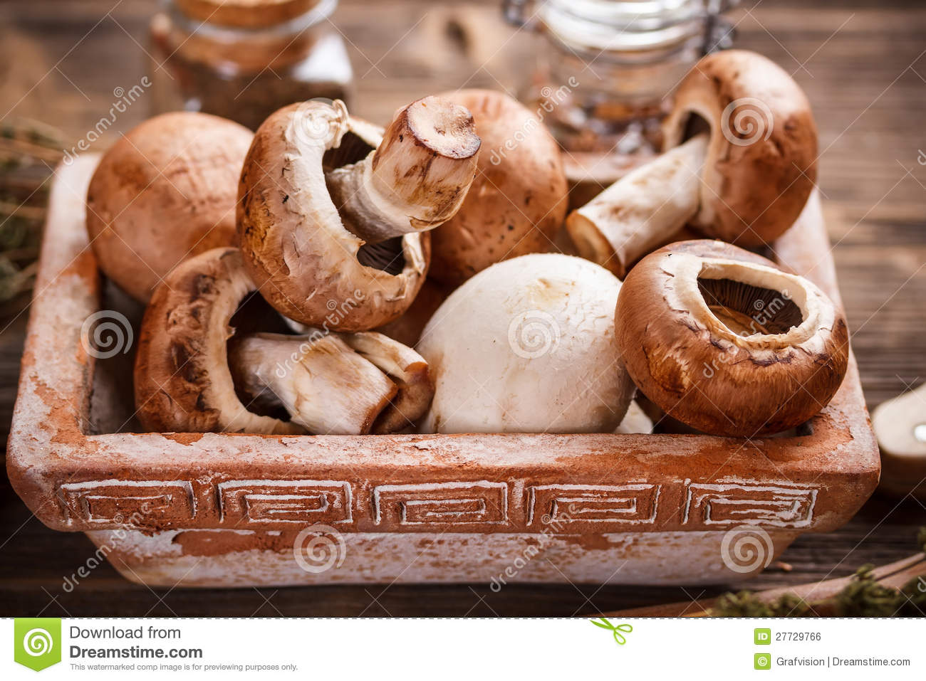 Brown-Champignons