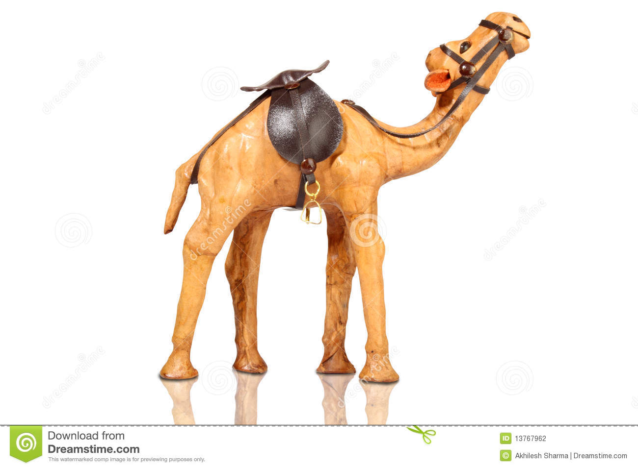 brown colored camel souvenir from dubai stock photography. Black Bedroom Furniture Sets. Home Design Ideas