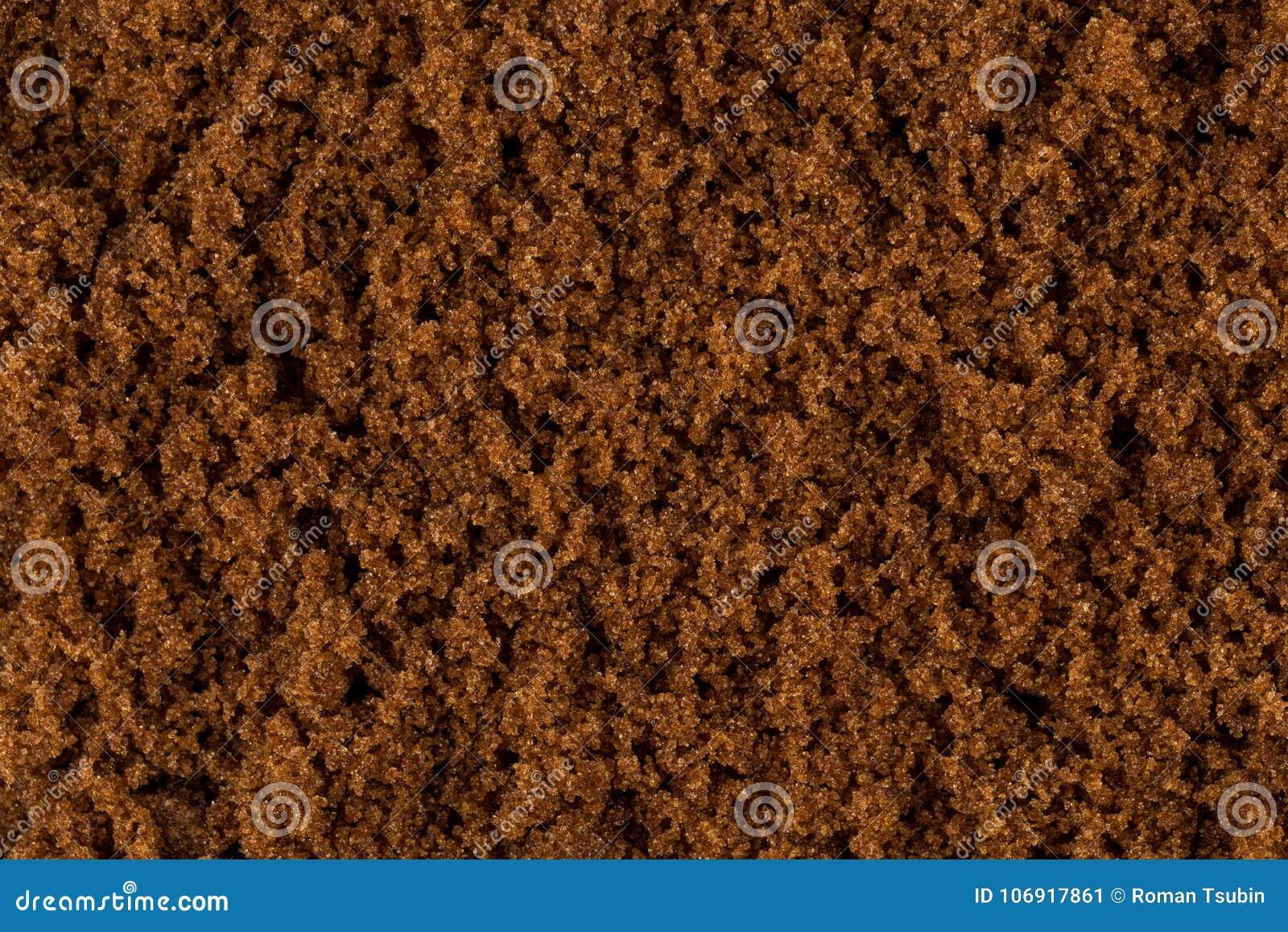 Brown cukieru zakończenie up