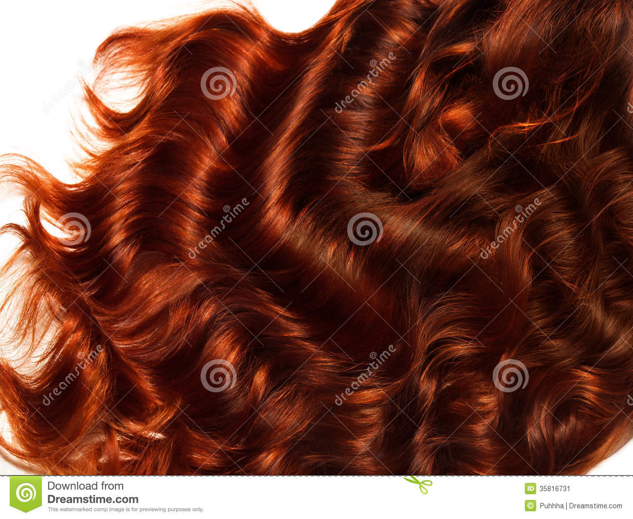 brown curly hair texture high quality image stock image