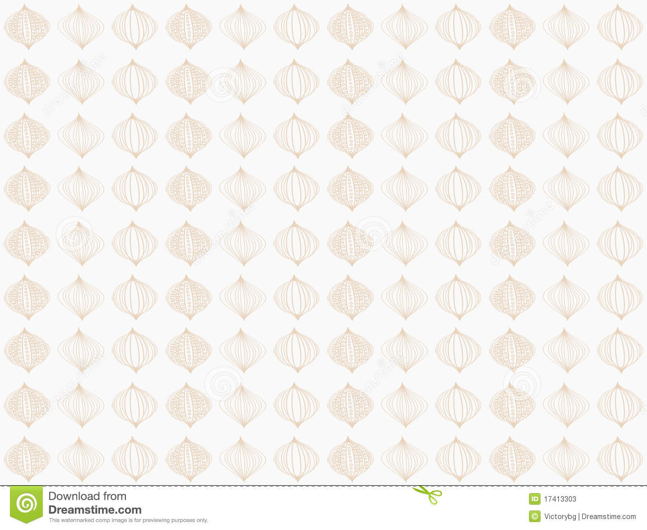 Download Brown Damask Seamless Wallpaper Stock Illustration - Illustration of baroque, brown: 17413303