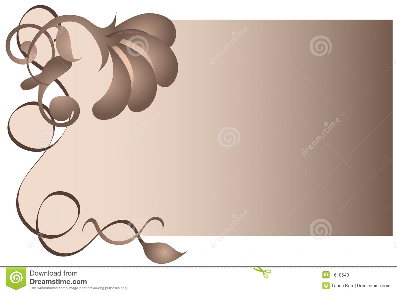 brown floral myspace layout brown floral and swirl background stock photo image 1610540