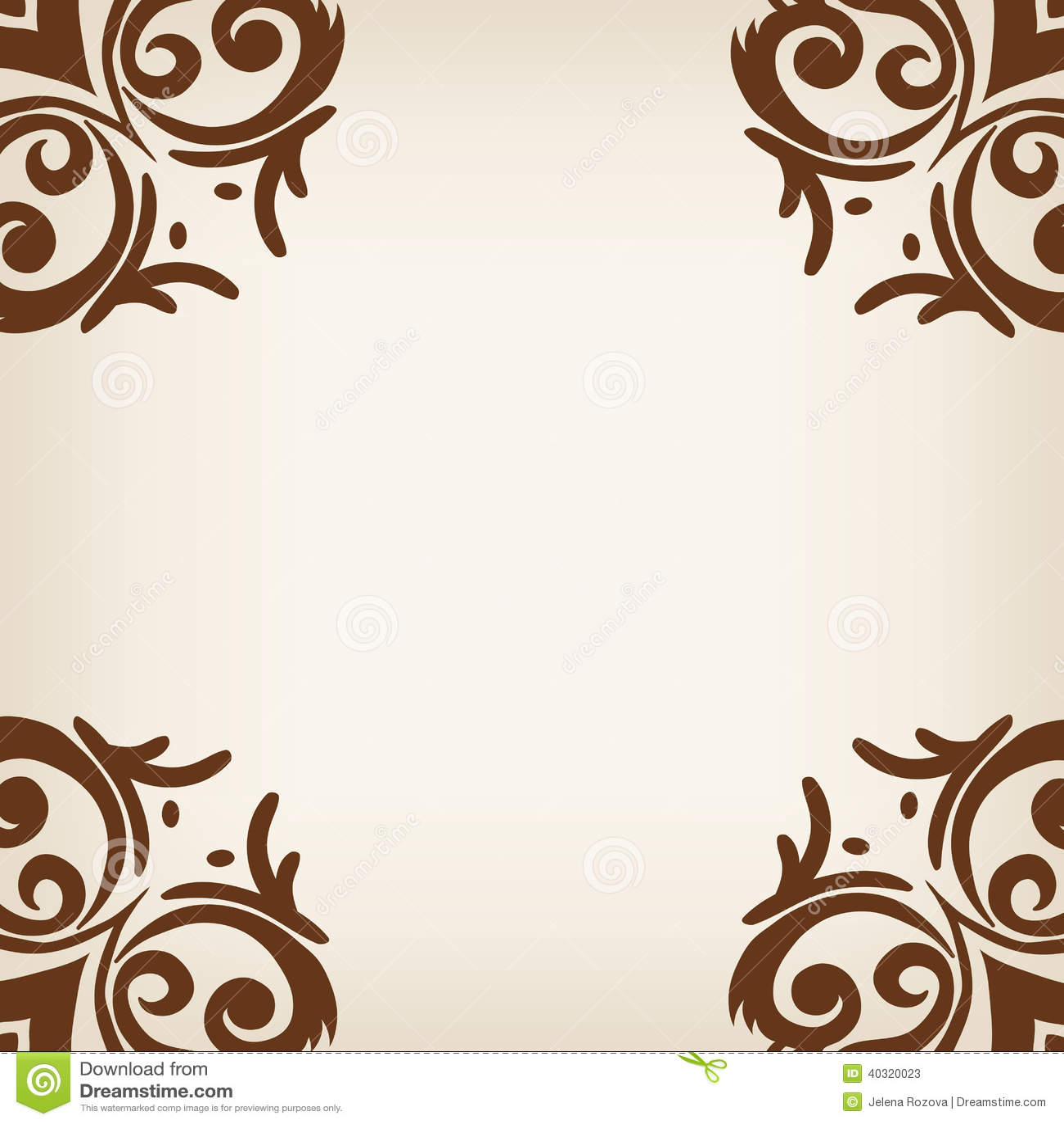 brown frameborder
