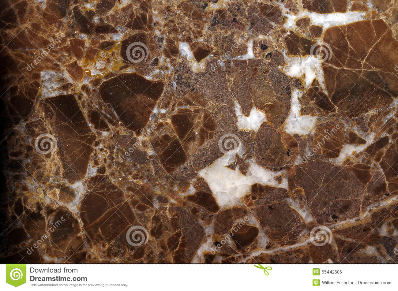 Brown And White Granite : Brown granite stock photo image