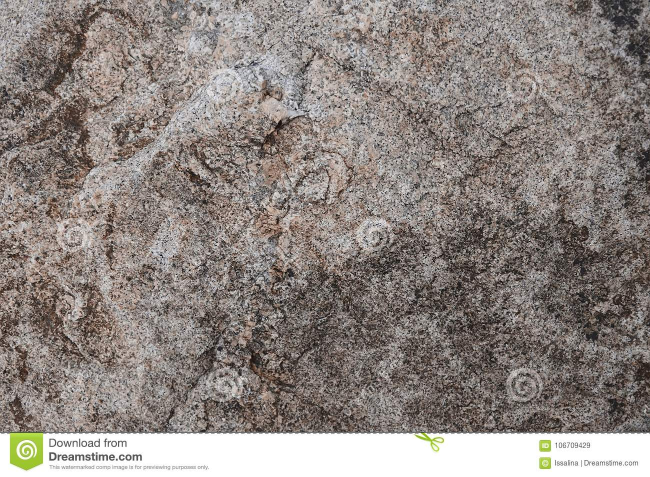 Brown Granite Rock Background Texture Stock Image Image Of Material Background 106709429