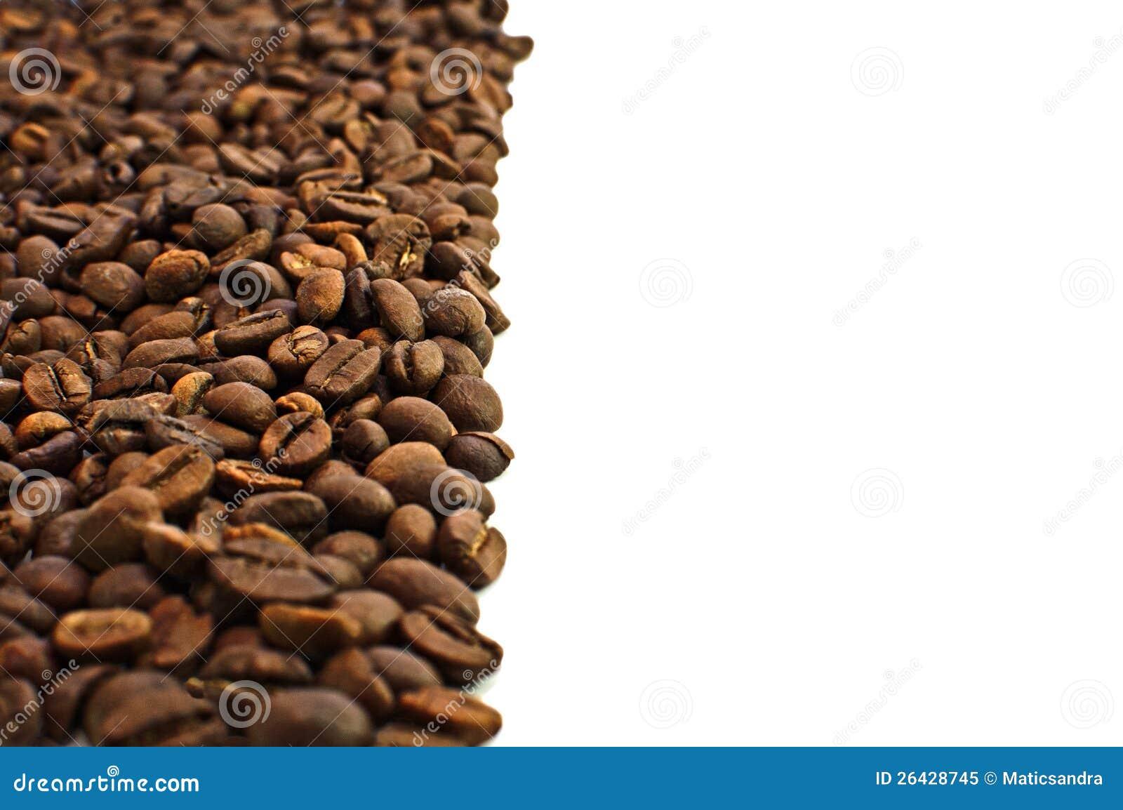 Brown grillade kaffebönor